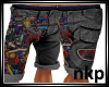 Graffiti RonJon shorts