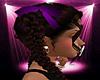 -S- Purple Hair Ribbons