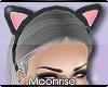 m| kitty headband black