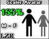 Scaler Avatar M - F 155%
