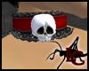 Skull Lace Collar R/B