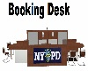 NYPD Booking Desk