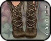 RA*Outdoor Boots - Brown