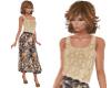 TF* CamiTop Floral Skirt