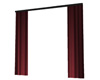 Stage - Red Side Curtain