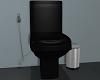 Black Toilet Set