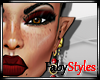 Iesha Makeup Maroon
