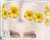 c Yellow Daisy Crown