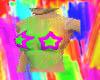 star and rainbow fishnet
