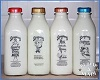Country Milk Man Bottles