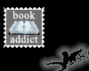 N- Book Addict Stamp