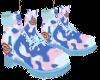 cottun candy boots
