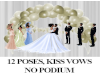 12 Pose wedding vow