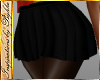 I~Blk Pleated Skirt RLL