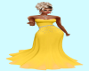 Sparkle Yellow Gown