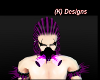 (K)PurpleTransparentMask