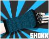 """SHK""""Blue Wool Warmers"""