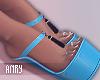 [Anry] Klara Shoes Blue