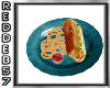 50's Hot Dog Plate