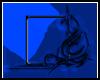 BLUE TRIBAL BORDER