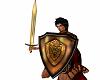 Roman Sword + Shield