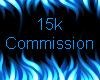 15k Commission Sticker
