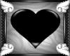 {J} Heart PVC Rug