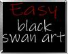 i* Easy-Blk Swan Art
