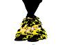 pikachu monster boots