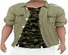 Camo top Khaki Shirt