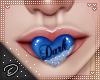 !D! Dark Mouth Blue