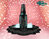 Black & Teal Fountain