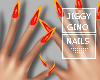 Flame On Manicure
