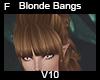 Blonde bangs V10