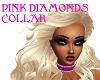 PINK DIAMONDS COLLAR