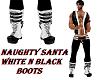 NAUGHTY SANTA BOOTS
