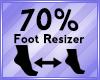 Foot Scaler 70%