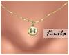 |K Tiny Necklace H