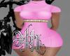 nataly knit XL pink