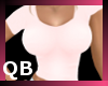 Q~Tight Light Pink Top