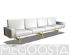 Gold Detail Couch