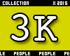 3K Support Sticker