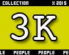 3K Support Sticker