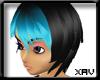 [X]Nanami black/aqua