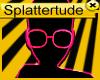 !s! Nerd Glasses Pink