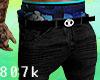Black Jeans + Blue K.
