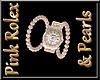 Pink Rolex & Pearls