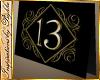 I~Table 13 Card