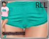 CG | Shorts Teal RLL