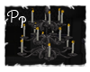 <Pp> Gothic Chandelier